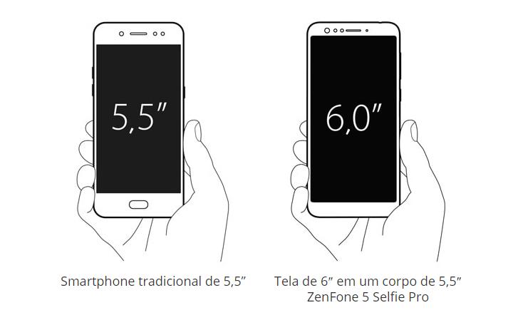Kabum smartphone asus zenfone 5 selfie pro sd630 zc600kl proporo de tela ccuart Choice Image