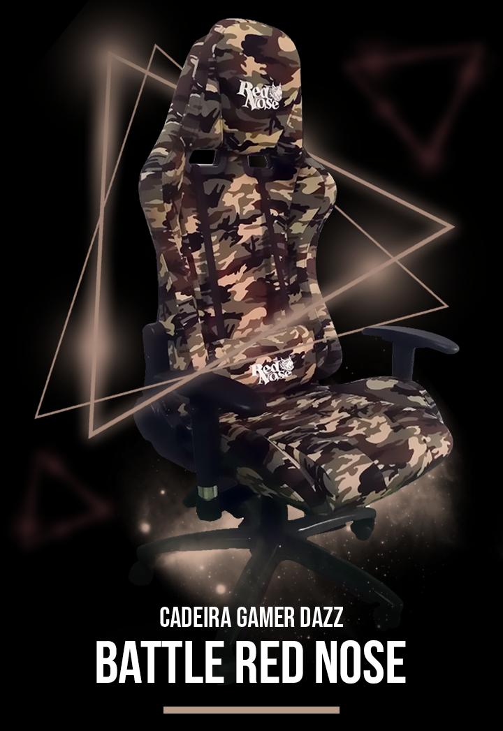 Cadeira Gamer Battle Red Nose