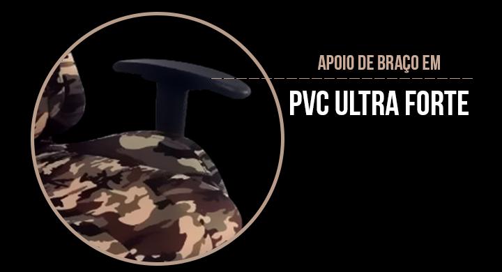 Apoio de braço em PVC ultra forte